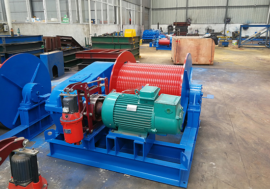 Electric Winch Machine 10 Ton