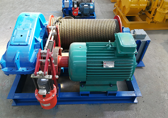 AQ-JM Electric Wire Rope Winch Machine Price