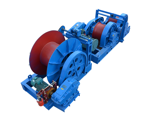 Friction Type Electric Rope Winch for Sale