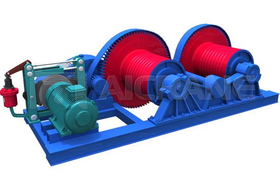 Dual Drum Electric Winch Manufacturer