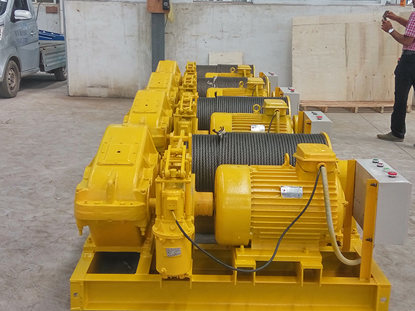 Electric Wire Rope Winch Machine Price