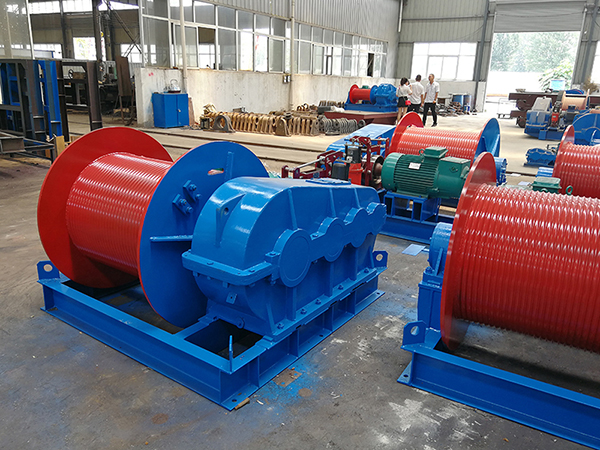 Wire Rope Winch Manufacturer Supplier