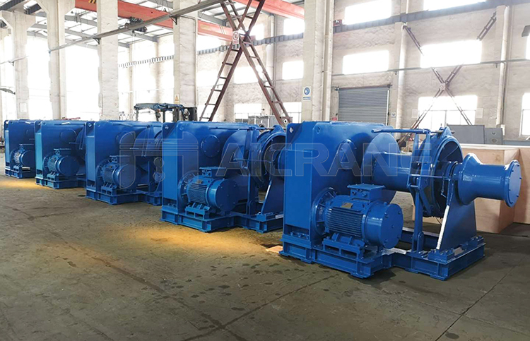 Marine Electric Power Winch