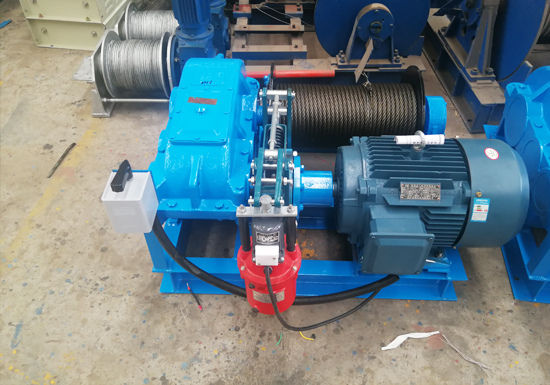 Light Duty Winch With Inverted Switch