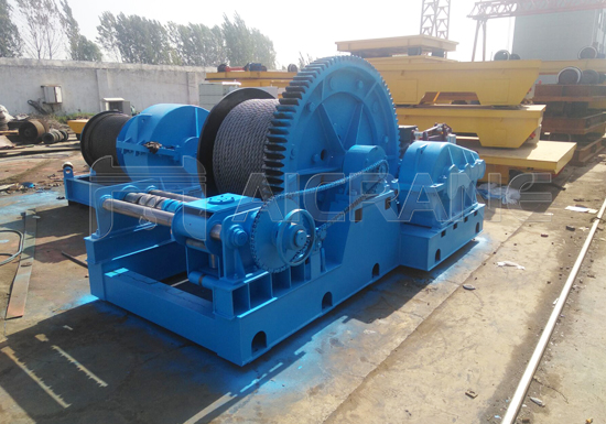 AQ-JM 30 Ton Electric Winch Manufacturer