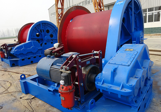 JM 50 Ton Winch Manufacturer