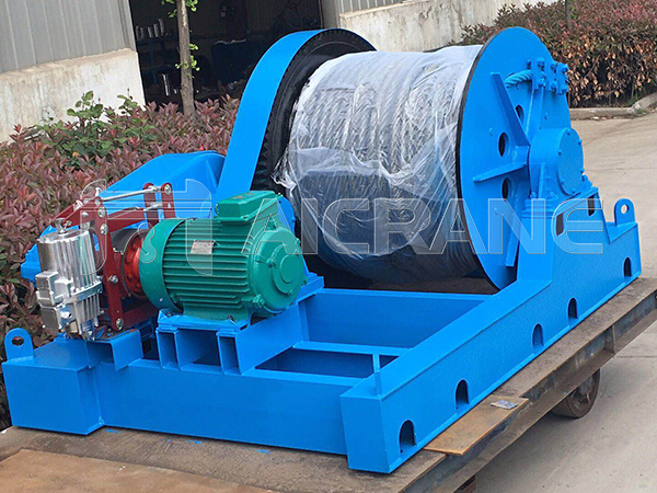 JM Slow Speed Winch For Construction Application