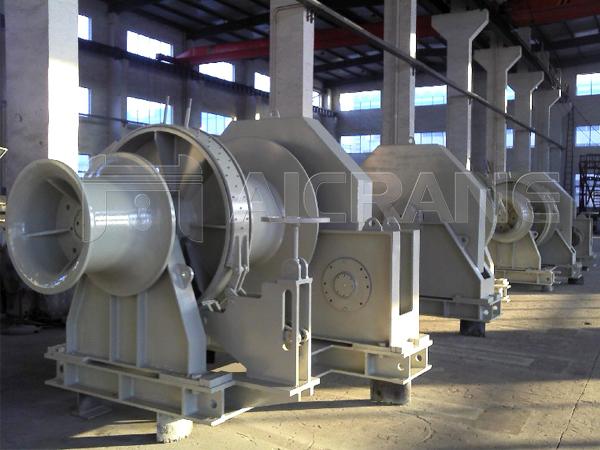 20 Ton Hydraulic Winch Manufacturer