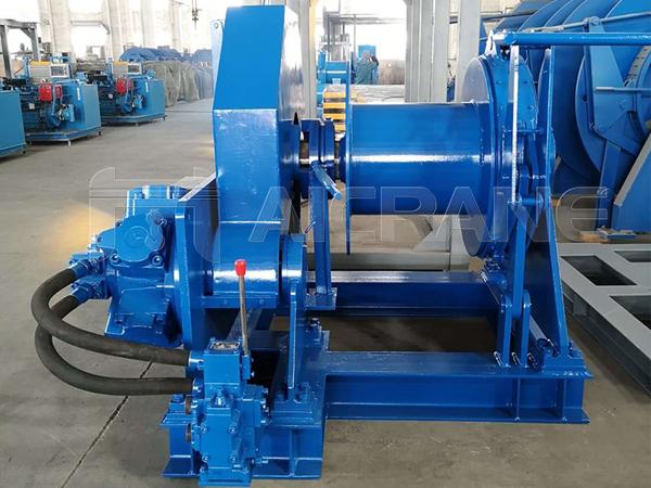 5 Ton Hydraulic Winch Manufacturer