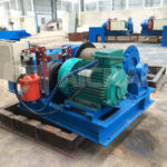 JM 3 Ton Electric Winch to Indonesia