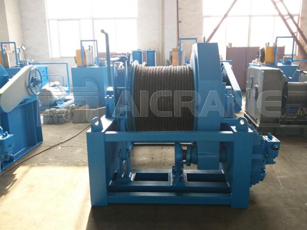 15 Ton Hydraulic Winch for Sale