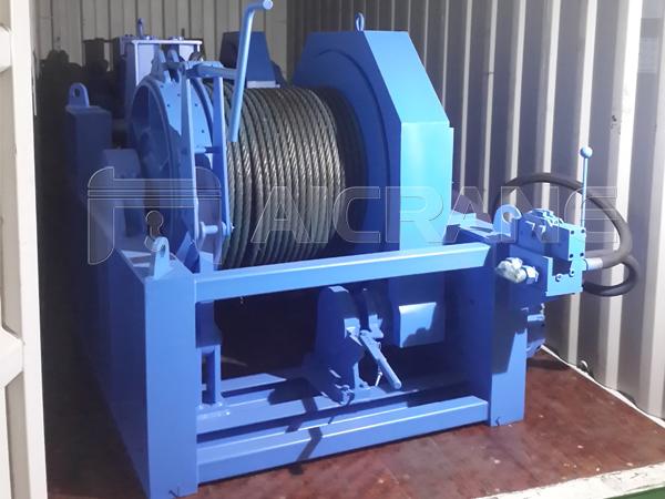 15 Ton Hydraulic Winches to Vietnam
