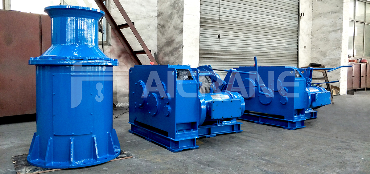 5 Ton Electric Mooring Winches to UAE