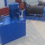 5 Ton Hydraulic Winches to Malaysia