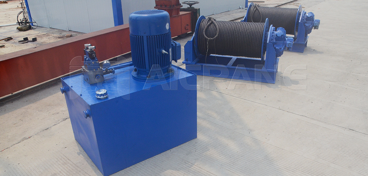 5 Ton Hydraulic Winches For Sale