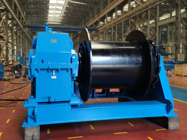 50 Ton Electric Mooring Winch For Sale