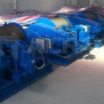 4 Sets of JM 5 Ton Electric Winches to Indonesia