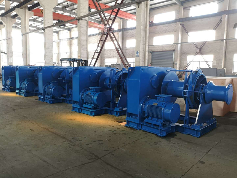 Electric Mooring Winches Manufacturer