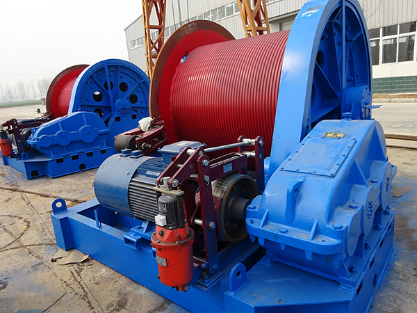 Construction Winch 50 Ton For Sale