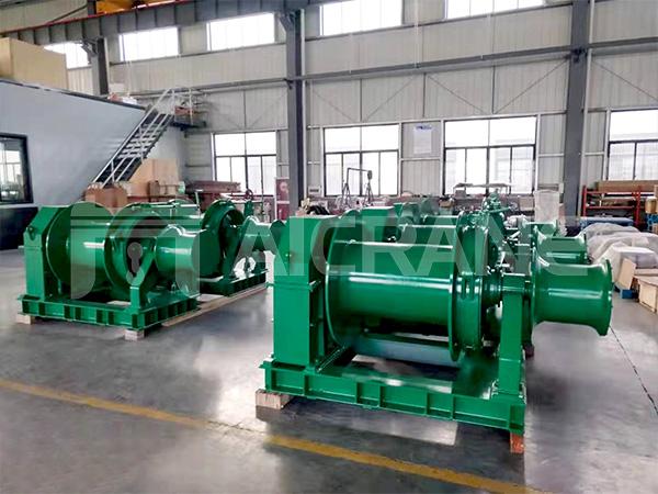 10 Ton Hydraulic Winch to Indonesia