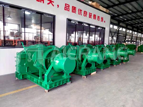 10 Ton Hydraulic Marine Winch Indonesia