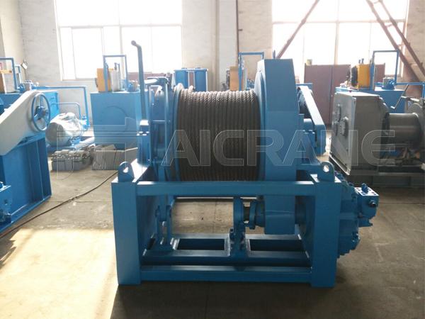 15 Ton Marine Hydraulic Winch For Sale