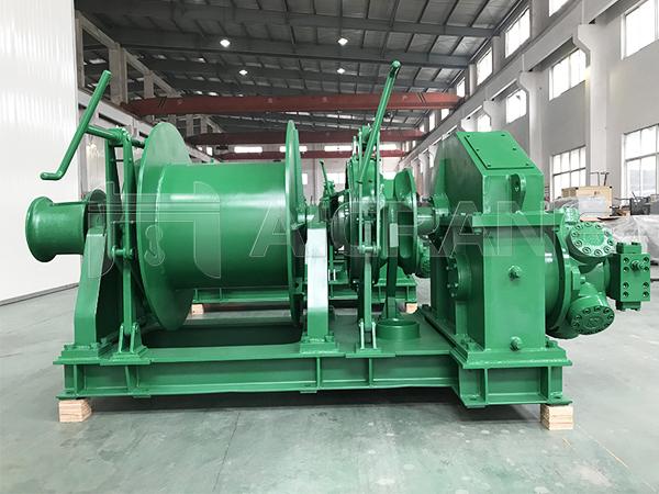 5 Ton Hydraulic Anchor Mooring Winch Supplier