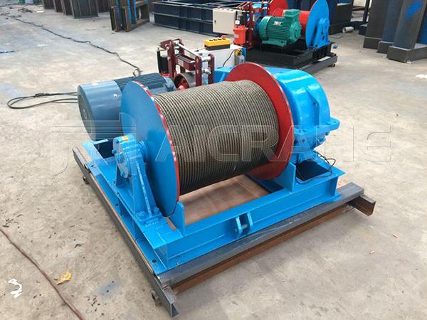 JK 5 Ton Electric Winch to Malaysia