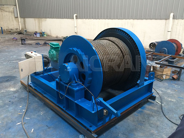 Electric Winch For Sale Indonesia