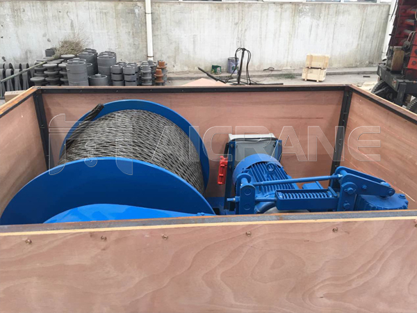 JM 5 Ton Winches to Indonesia