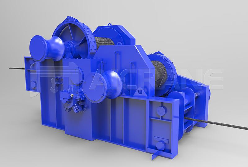 Double Drum Marine Winch Manufacturer