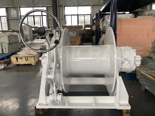 Hydraulic Towing Winch For Sale