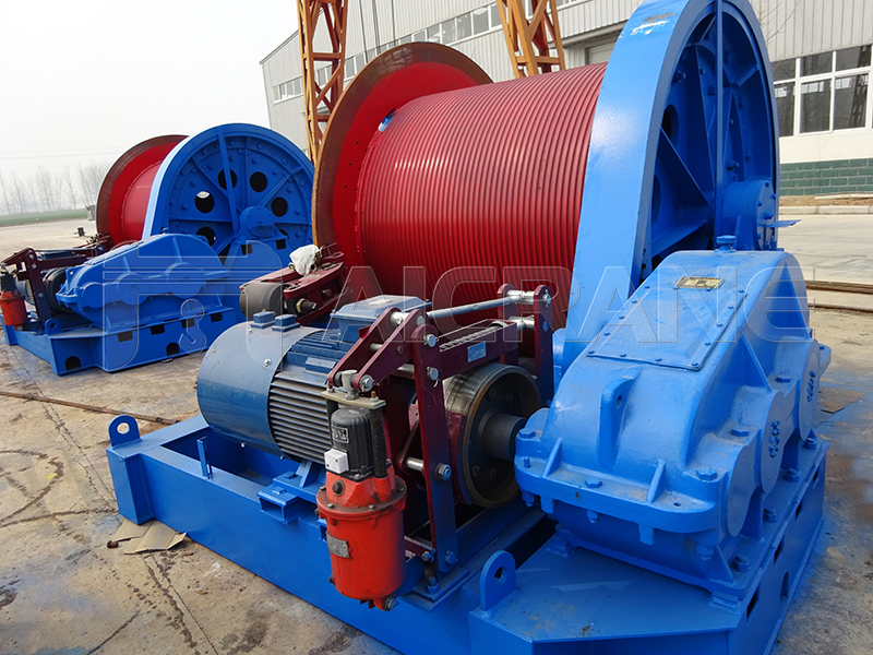 Electric Pulling Winch Manufacturer