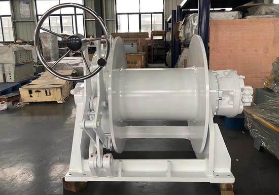 Hydraulic Single Drum Mooring Winch For Sale