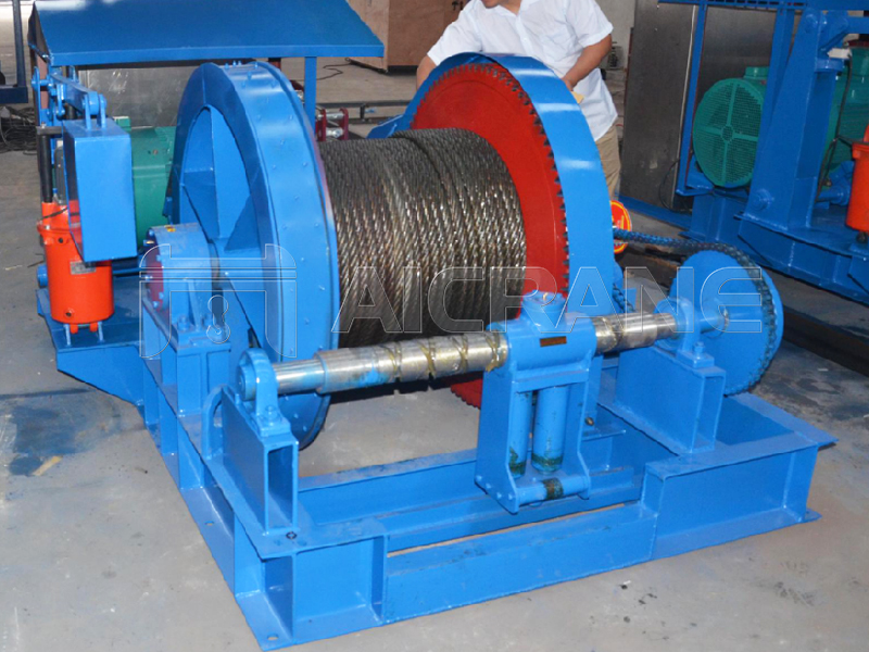 Single Drum Winch Price