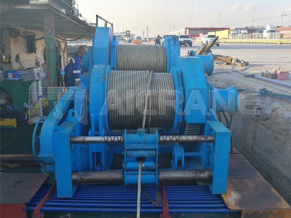 Waterfall Type Hydraulic Winch Supplier Philippines