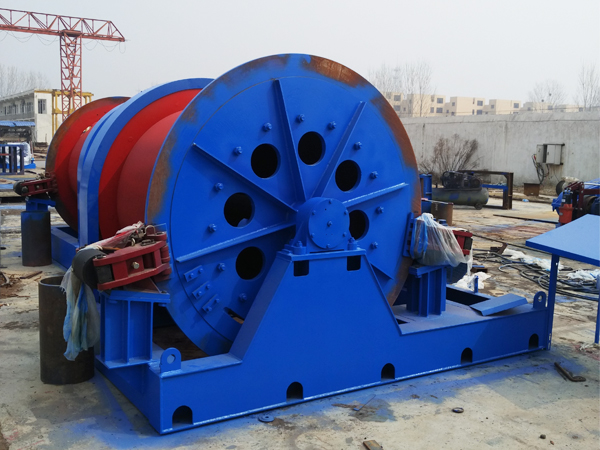 Winch With Electric Disc Brake