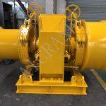 Shipment of 10 Ton Double Drum Electric Winch to Hong Kong