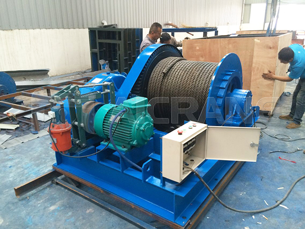 AQ-JM 12 Ton Electric Winch For Sale Indonesia