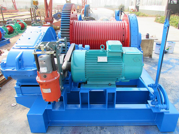 JKL 10 Ton Winch With Clutch For Sale