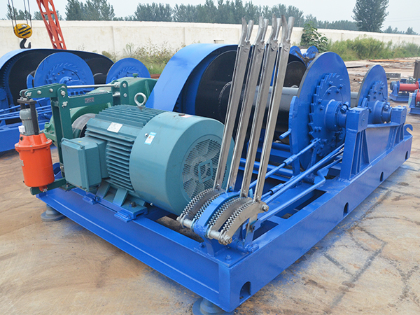 JKL Double Drum Piling Winch Price