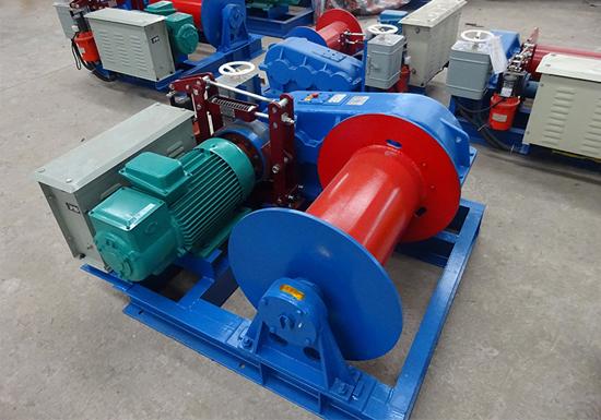 JM 5 Ton Electric Winch Manufacturer
