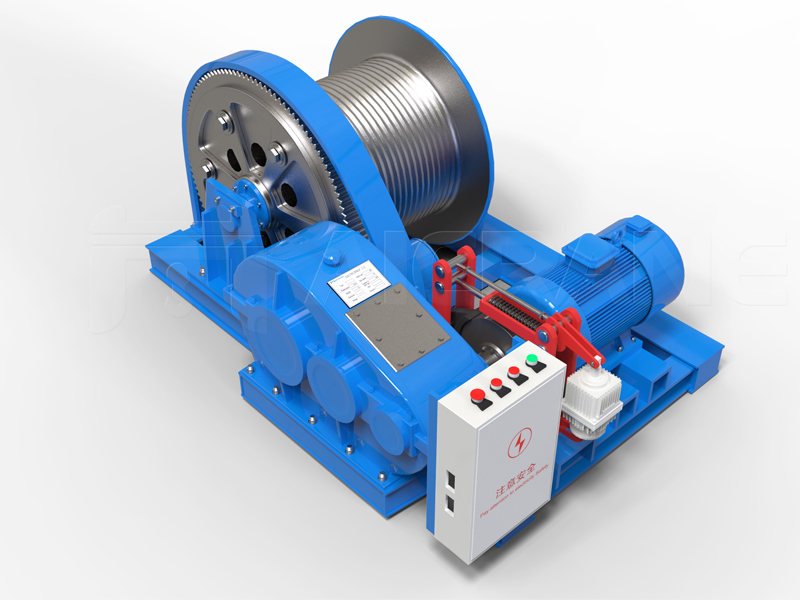 JM Electric Winch For Pulling