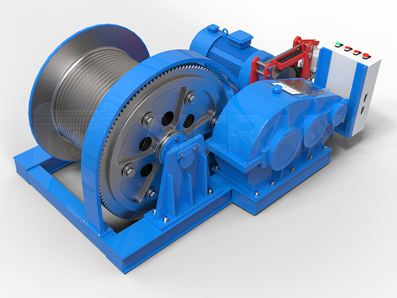 JM Electric Winch For Sale