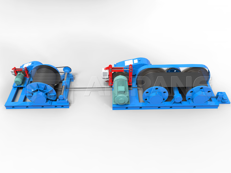 JMM Friction Type Electric Winch For Sale