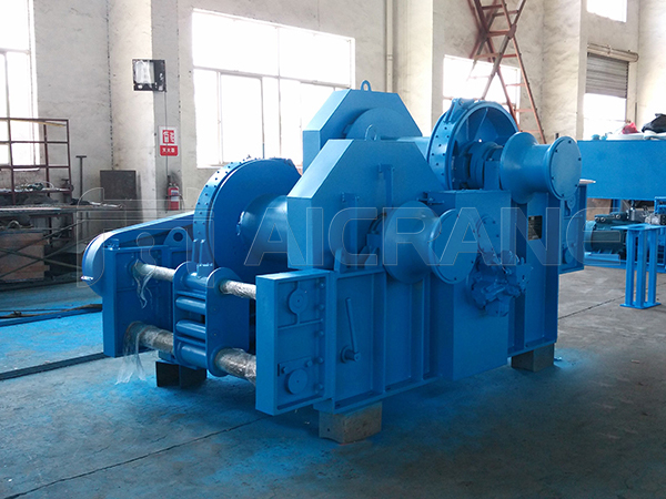 Hydraulic Double Drum Winch For Sale