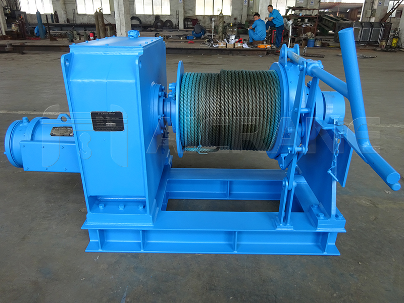 Electric Anchor Mooring Winch Supplier