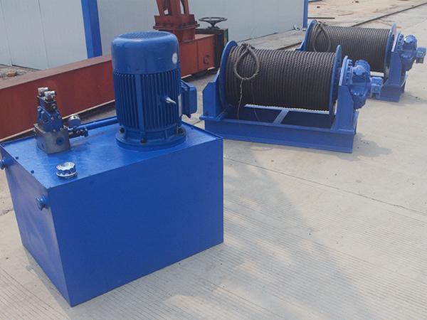 Hydraulic Lifting Winch Supplier