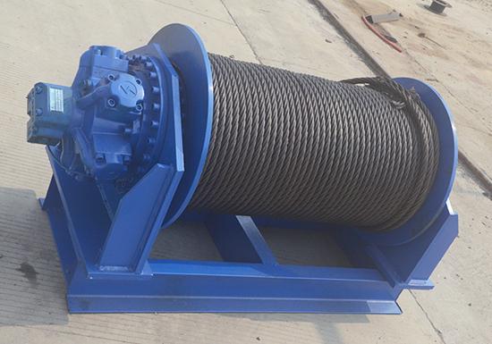 Industrial Hydraulic Winch Supplier