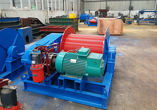 Single Drum Winch For Sale